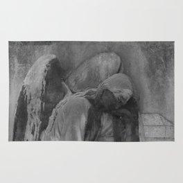 ancient angel Rug
