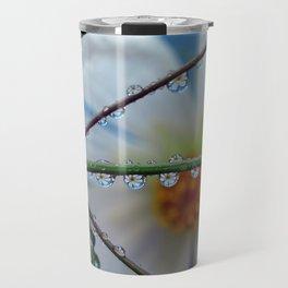 petal puddles 2 Travel Mug