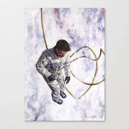 Hovering, Floating in Circles Canvas Print