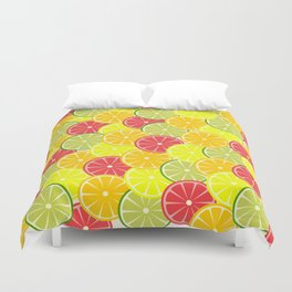 Summer fruits Duvet Cover