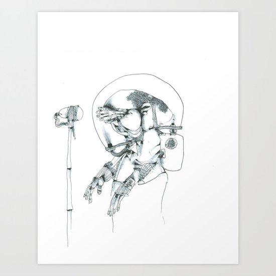 Performer  Art Print
