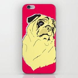 Shmoo the pug iPhone Skin
