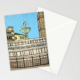 fontana maggiore, perugia Stationery Cards