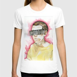 Watercolor drawing T-shirt