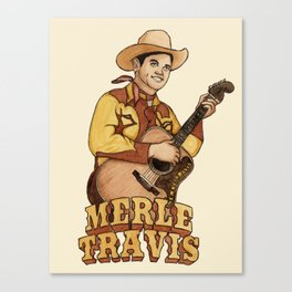 Merle Travis Canvas Print