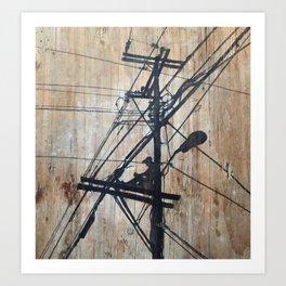 Unwind Art Print