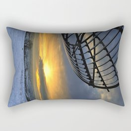 The Halo Panopticon Rectangular Pillow