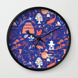 Asian Garden - Everything Has its Beauty Wall Clock