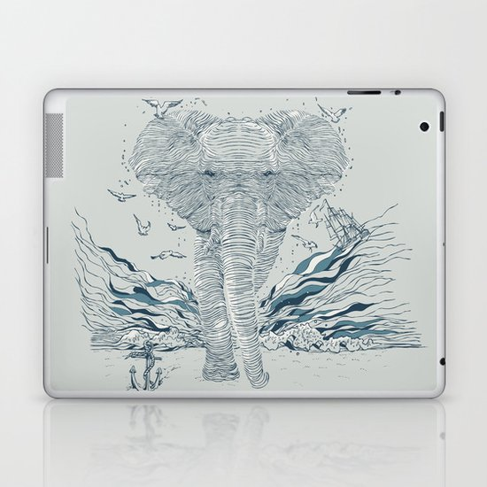 THE OCEAN SPIRIT Laptop & iPad Skin