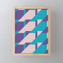 Abstract Glow #society6 #glow #pattern Framed Mini Art Print