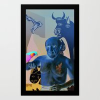 picasso Art Prints featuring Picasso by Matthew Lake