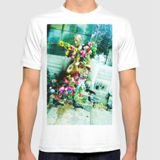 And all so heavy on my back! White MEDIUM Mens Fitted Tee