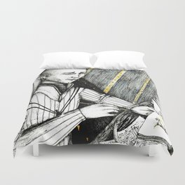 Fen'harel's sketchbook Duvet Cover