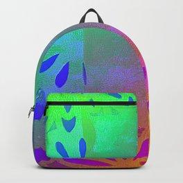Rainbow summer flowers Backpack