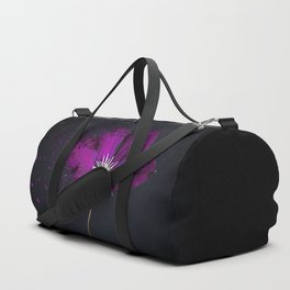 Clematis Explosion Duffle Bag