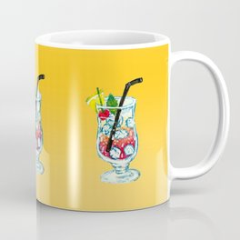 Watercolor Summer Cocktail Coffee Mug