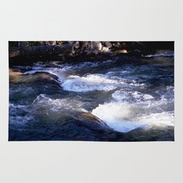Morning Sun on the Rapids of Vallecito Creek, No. 1 of 2 Rug