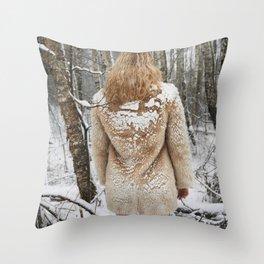 Winter Wait Throw Pillow