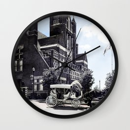Historic Bardstown Carriage Wall Clock