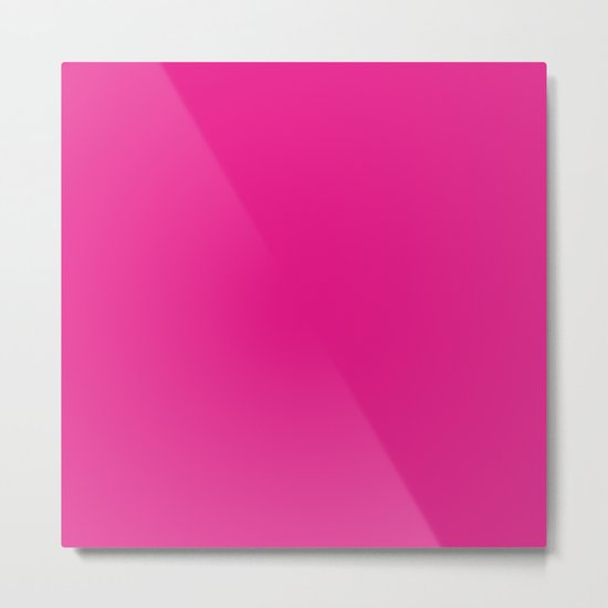 Simply pink color - Mix and Match with Simplicity of Life Metal Print