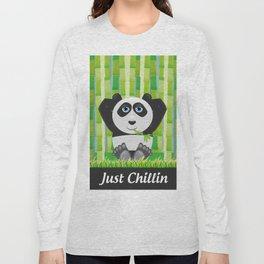 Panda Chillin Long Sleeve T-shirt