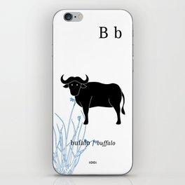 B/Buffalo iPhone Skin