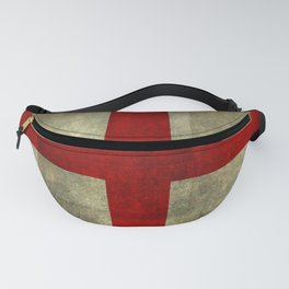 Flag of England (St. George's Cross) - Textured version to scale  Fanny Pack