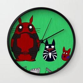 My Neighbor Deadpool Wall Clock
