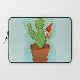 fairytale dwarf with cactus Laptop Sleeve