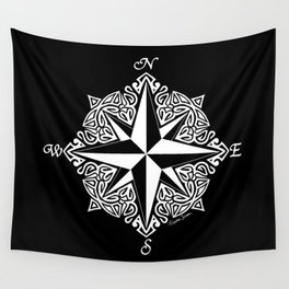 Cindy's Tribal Compass Rose Wall Tapestry