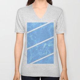 Blue Granite Unisex V-Neck