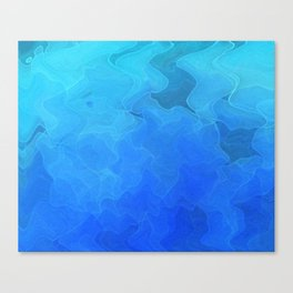 Glow with the Flow Canvas Print