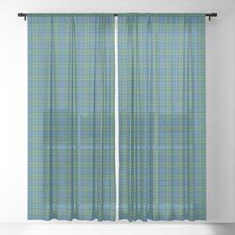 Lockhart Tartan Plaid Sheer Curtain