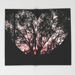 Tree of Heart Throw Blanket