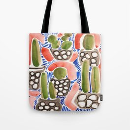 Cocktail Bling Plants Tote Bag