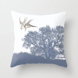 The springtime of Lovers  Throw Pillow