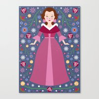 belle Canvas Prints featuring Belle by Carly Watts