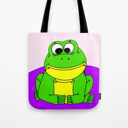 Wide-Eyed Toad Tote Bag