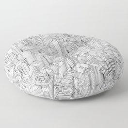 Isometric Urbanism pt.1 Floor Pillow