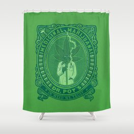 Medicinal Marijuana Shower Curtain
