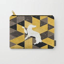 Hufflepuff House Pattern Carry-All Pouch