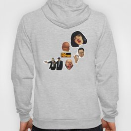 Pulp Fiction Movie Poster Mia Wallace Classic Hoody