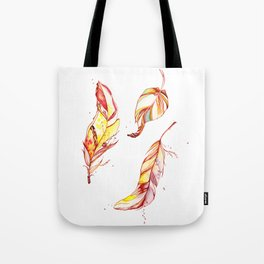 Indian feathers Tote Bag