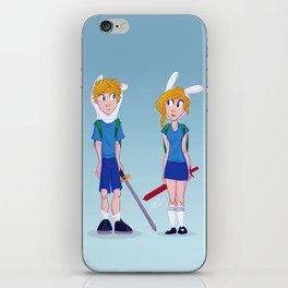 Finn and Fionna iPhone Skin