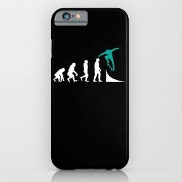 Skater Skateboard Skateboarder Evolution iPhone Case