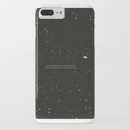 Do not go gentle into that good night.... iPhone Case