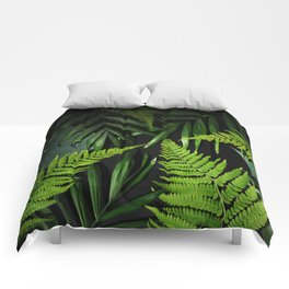 Leaves and branches Comforters
