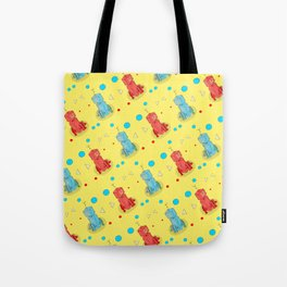 Robot With Too Many Legs Tote Bag