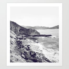 Tristes rivages Art Print