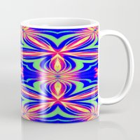 psychedelic Mugs featuring Psychedelic  by 2sweet4words Designs
